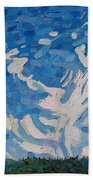 Mare's Tails Beach Towel