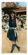 Margaret Gorman, 1921 Beach Towel