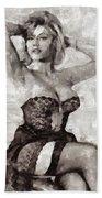 Margaret Nolan, Carry On Actress Beach Towel