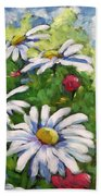 Marguerites 002 Beach Towel