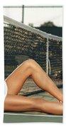 Maria Sharapova Beach Towel