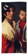 Maria Y Consuelo Gitana 1906 Beach Towel