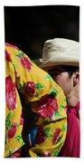 Mariachi Dancer 2 Beach Sheet