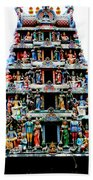 Mariamman Temple 4 Beach Towel