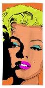 Marilyn-3 Beach Towel