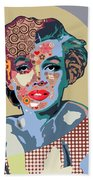 Marilyn Monroe Beach Towel