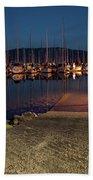 Marina Nightlights Beach Towel