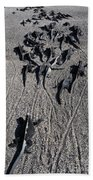 Galloping Iguanas Of Galapagos Beach Towel