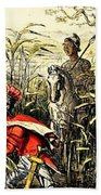 Marius Discovered In The Marshes At Minturn Beach Towel