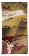 Marked Hills Beach Towel