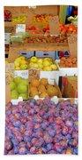 Market At Bensonhurst Brooklyn Ny 10 Beach Towel