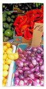 Market At Bensonhurst Brooklyn Ny 6 Beach Towel