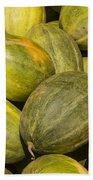 Market Melons Beach Towel