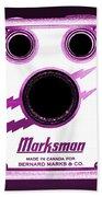 Marksman By Bernard Marks Beach Towel