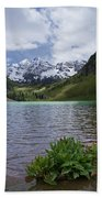 Maroon Bells Spring Beach Towel