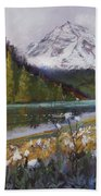 Maroon Lake Beach Towel