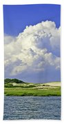Marsh And Dunes Beach Towel