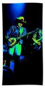 Marshall Tucker Winterland 1975 #12 Enhanced In Cosmicolors #2 Beach Towel