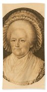 Martha Washington, American Patriot Beach Towel