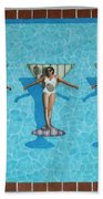 Martini Girls Beach Towel
