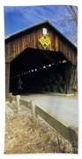 Martinsville Covered Bridge- Hartland Vermont Usa Beach Towel