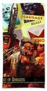 Marvel Zombies Beach Towel