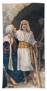Mary And Jesus Beach Towel