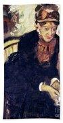 Mary Cassatt (1845-1926) Beach Towel