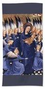Mary With Baby Jesus Beach Towel