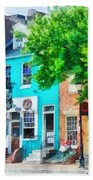 Maryland - Neighborhood Pub Fells Point Md Beach Towel