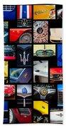 Maserati Art -01 Beach Sheet