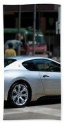Maserati Granturismo S Beach Towel
