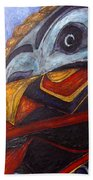Mask Of The Raven Beach Towel