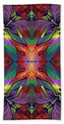 Masqparade Tapestry 7f Beach Towel