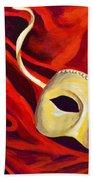 Masquerade 2 Beach Towel