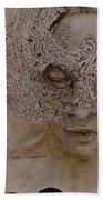 Masquerade Beach Towel