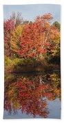 Massachusetts Color Beach Towel