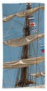 Mast Flags Beach Sheet