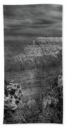 Mather Point B/w Beach Towel