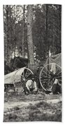 Mathew Brady Wagon Beach Towel