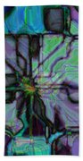Matrices In Glass Houses Beach Towel