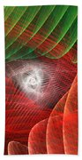 Matrix Beach Towel