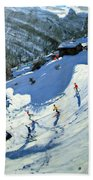 Matterhorn Beach Towel by Andrew Macara