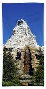 Matterhorn Disneyland Beach Towel