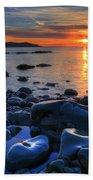 Maughold Beach Beach Towel