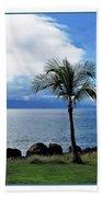 Maui Clouds Beach Towel