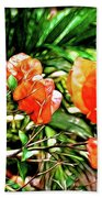 Maui Floral Beach Towel