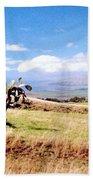 Maui Upcountry Beach Towel