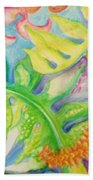 May Day Is Lei Day Beach Towel