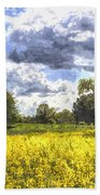 May Farm Art Beach Towel